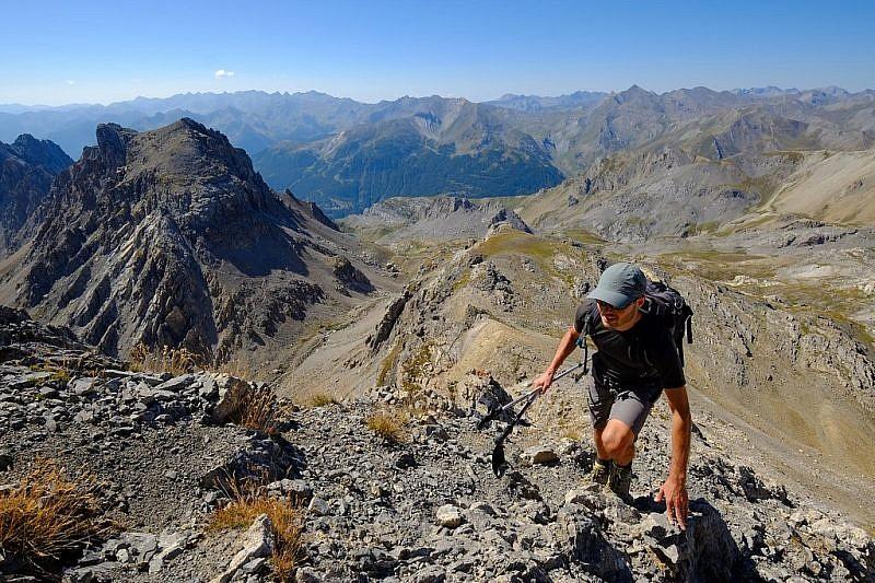 Durante la salita al monte si guadagna quota rapidamente