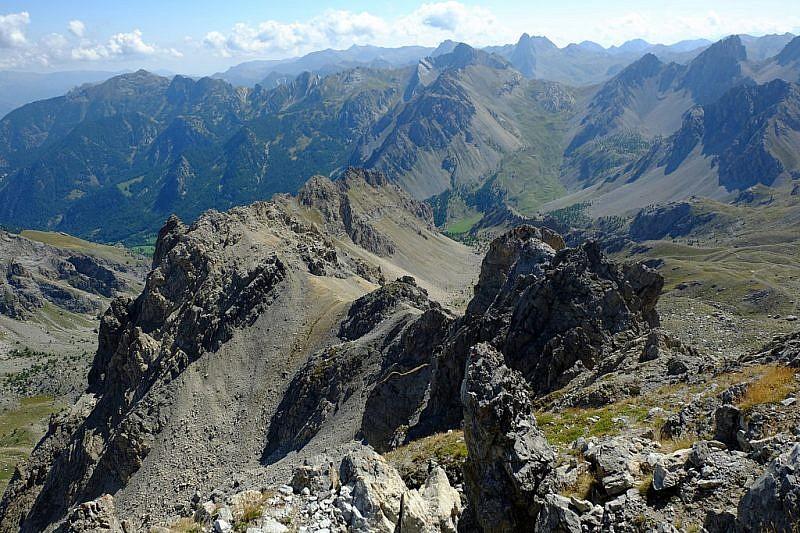 IlBric Content che abbiamo raggiunto pochi giorni fanello stupendoanello attorno al monte Vanclava