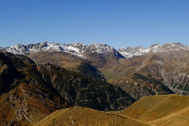 Panorama verso Ferrere
