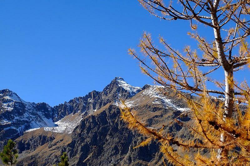 Becco Alto dell'Ischiator dalla cima del Monte Seita