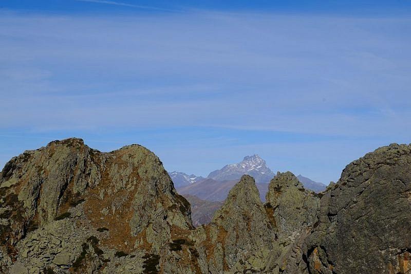 Il Monvisotra le rocce di rocca Pergo Grossa