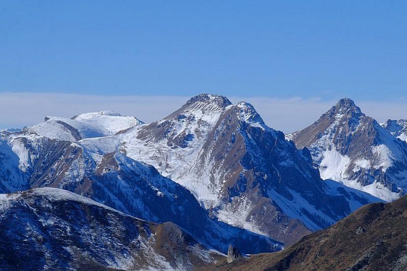 Da sinistra: monte Nebius, Savi e Salè