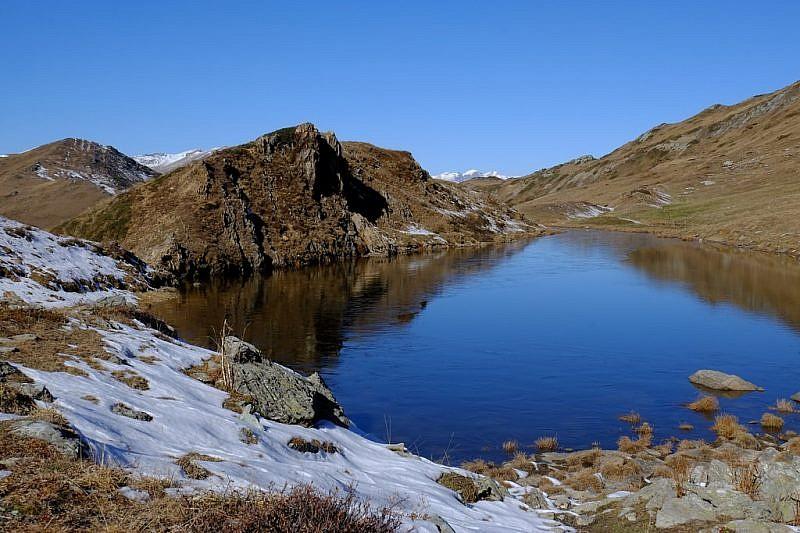Immagini del laghetto del Bram