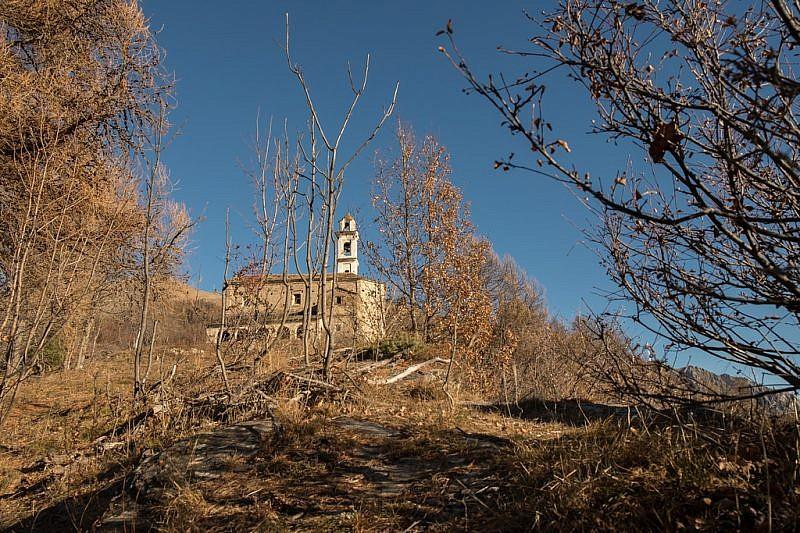 Ormai vicini al santuario di Santa Maria