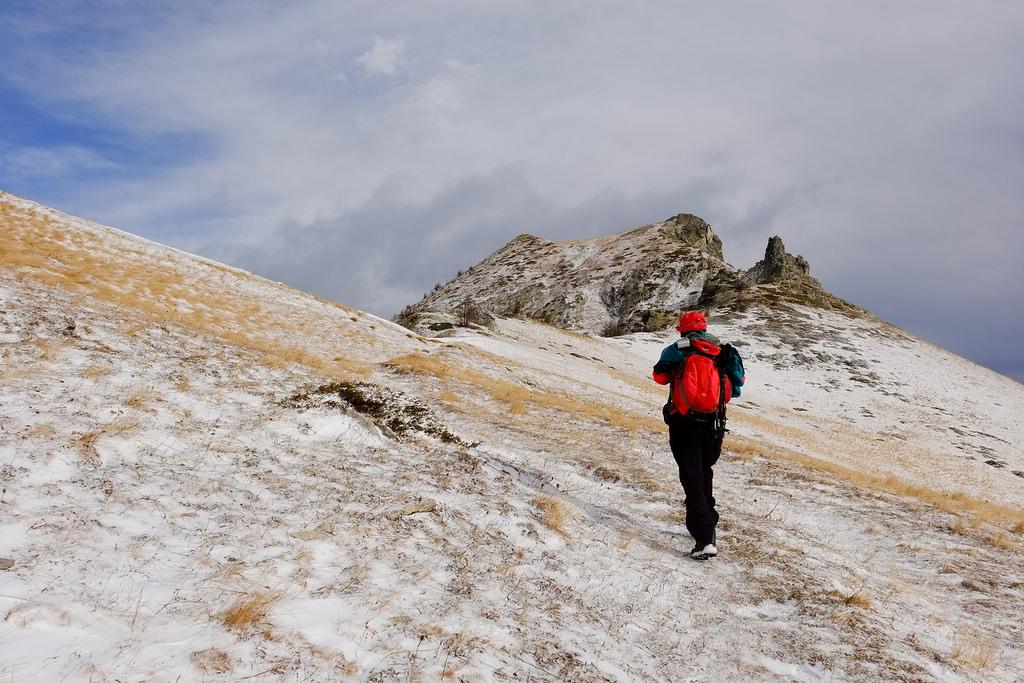 Escursione autunnale alla cima Soleglio Bue