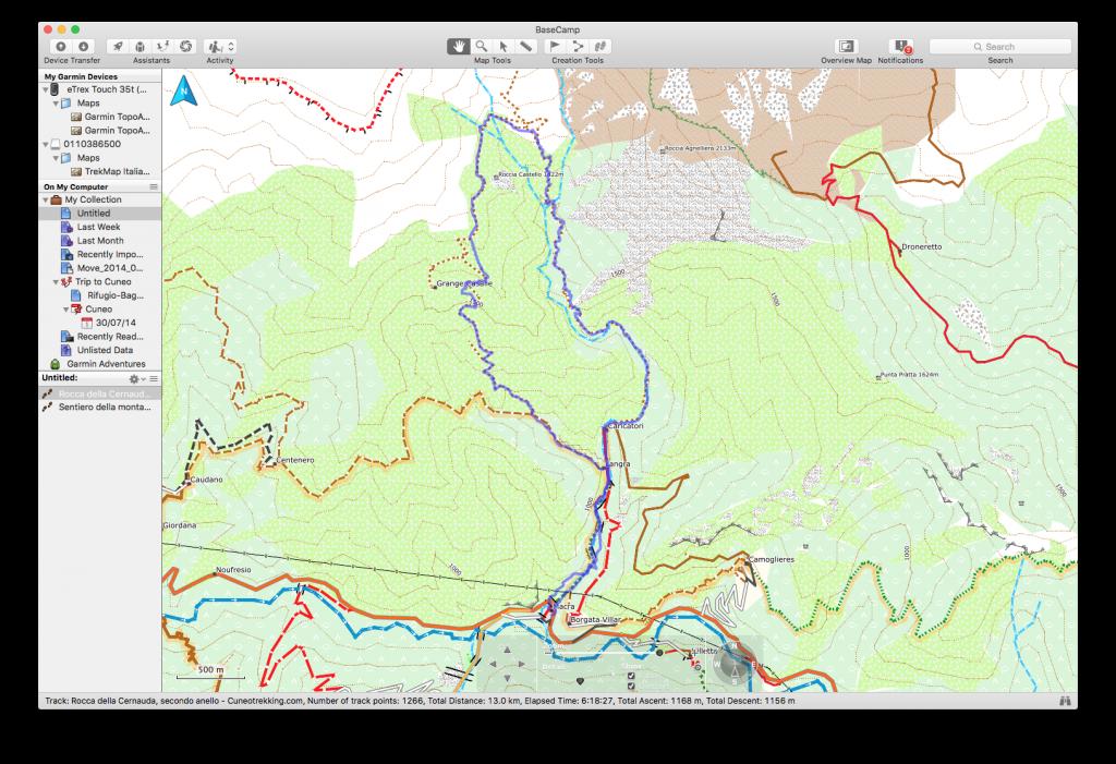 Mappa Italia X Garmin.Recensione Della Cartografia Garmin Trekmap Italia V4 Pro Vale Davvero La Spesa Cuneotrekking