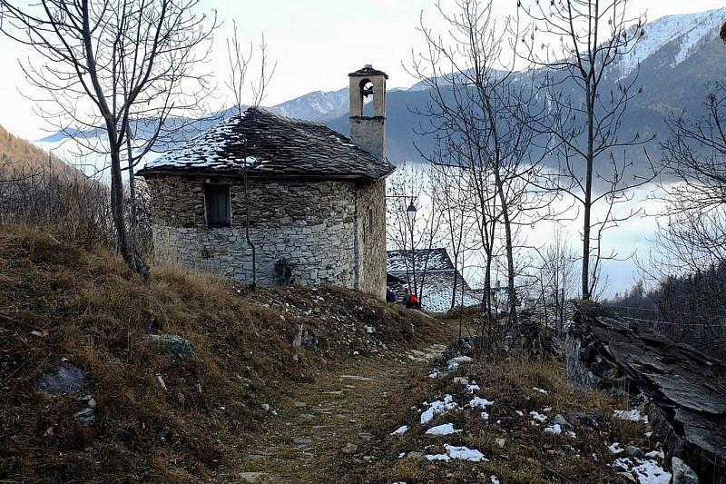 Borgata Ciamin, la cappella di san Michele