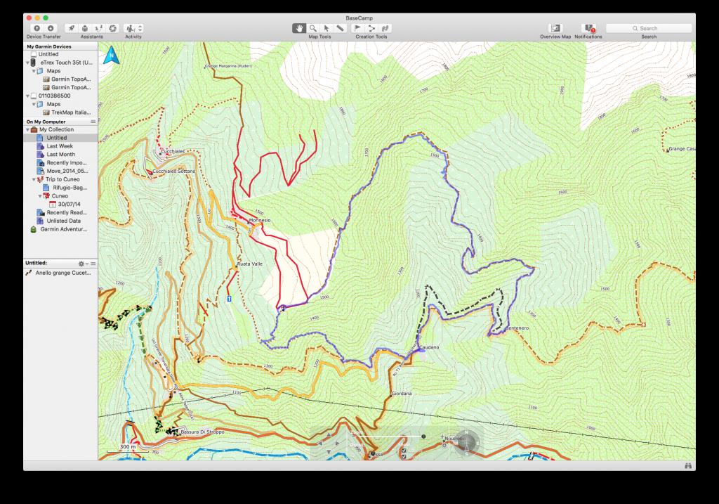 Recensione della cartografia Garmin TrekMap Italia v4 PRO: vale