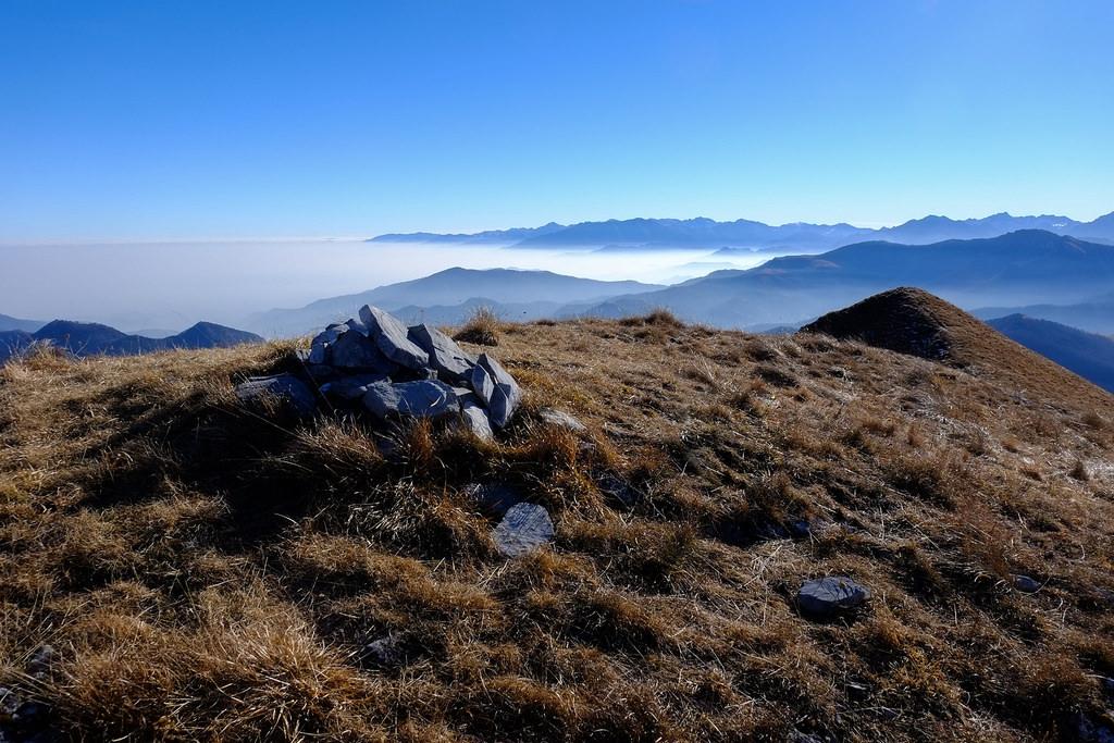 Escursione ad anello alle punte Freura, Mezzogiorno e Cauri