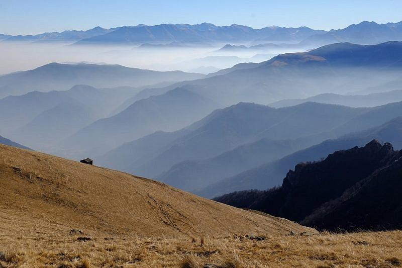 Panorama sulla bassa valle