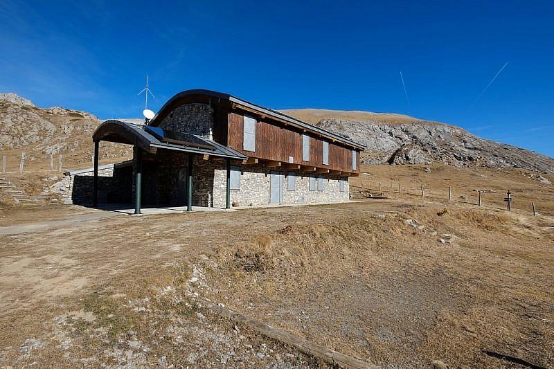 Il nuovo rifugio Don Barbera