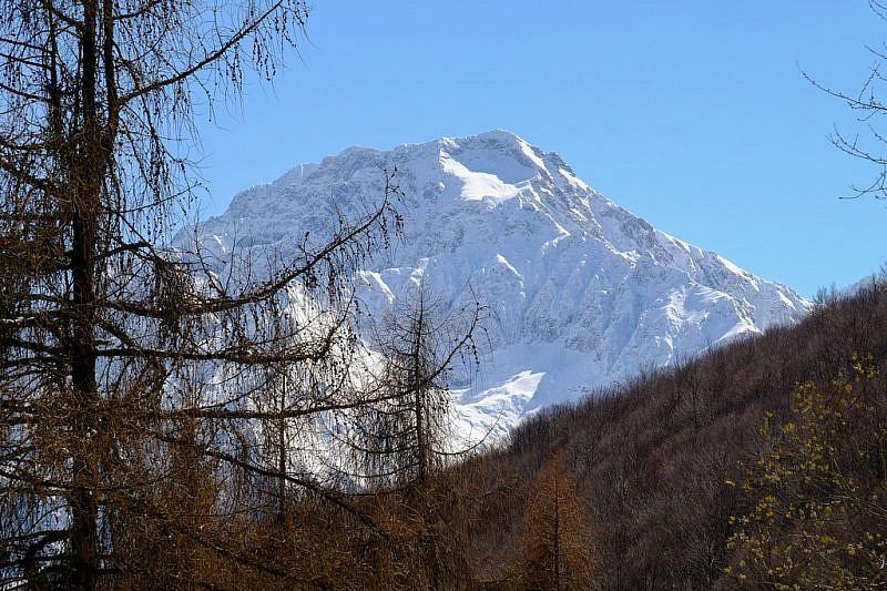 La cima del Lausetto