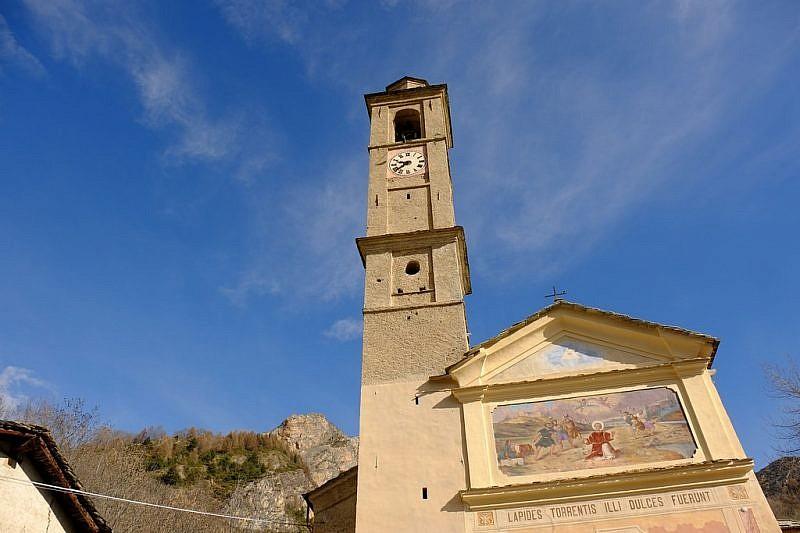 Partenza dalla chiesa di Ussolo