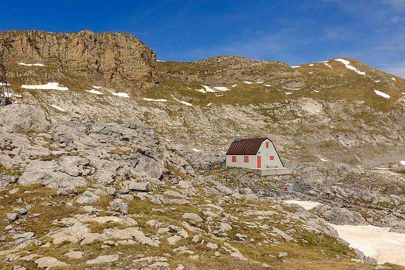 Immagini della capanna Morgantini