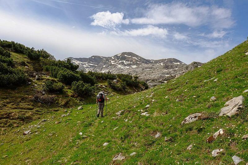 Verso il gias dell'Ortica