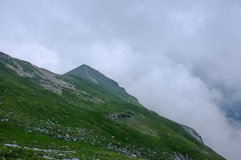Il monte Ciamoussé est che andiamo a salire