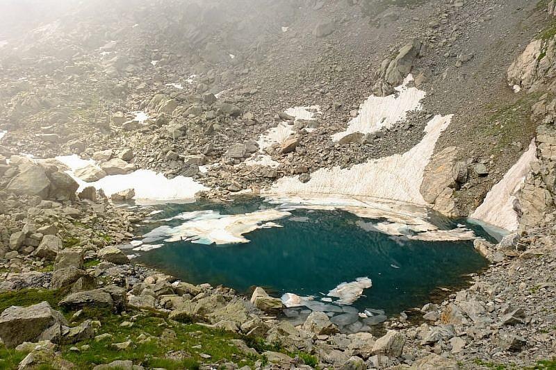 Lago dell' Oro e Monte Ciamoussé est