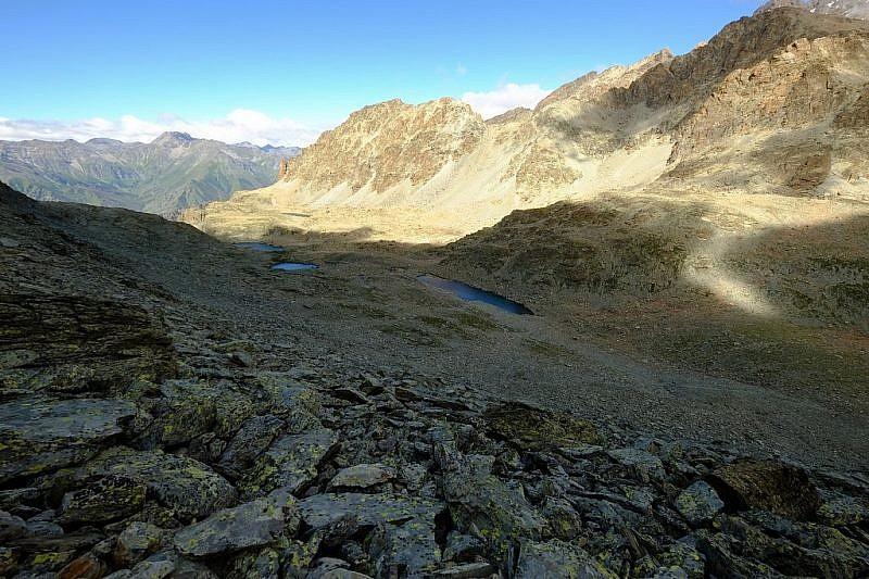 I laghi salendo al passo Calatà