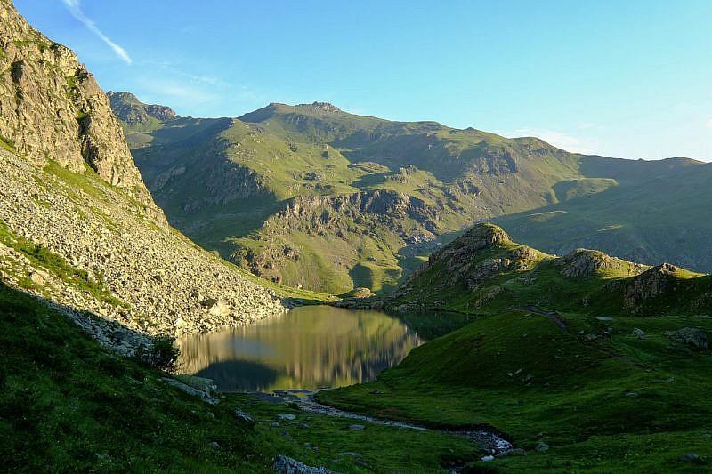 Lago Fiorenza dall'alto