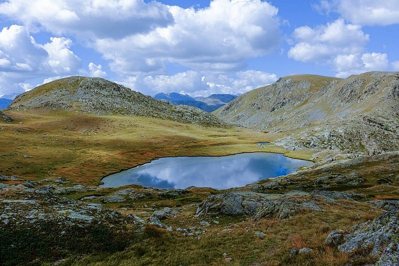 Il più basso dei laghi Morgon