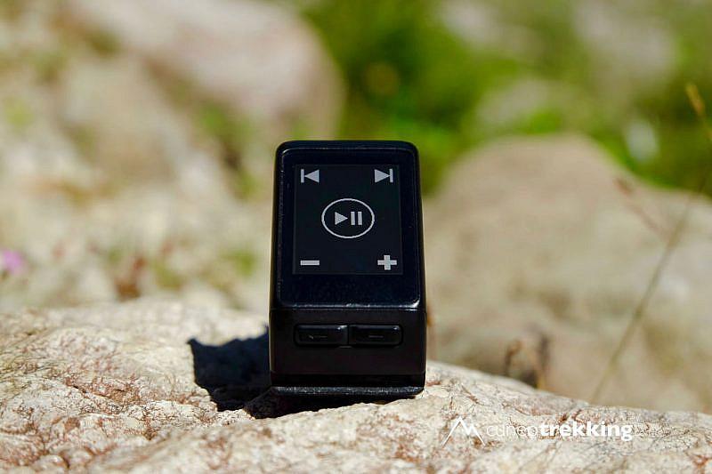 Il widget per il controllo della musica