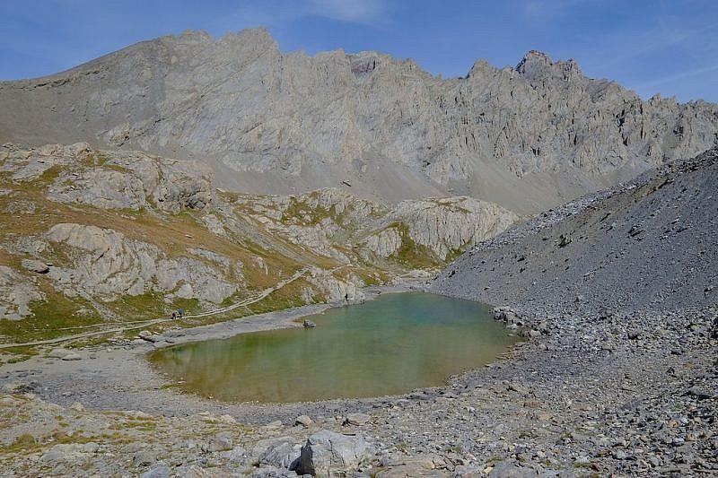 Discesa verso le lac Long