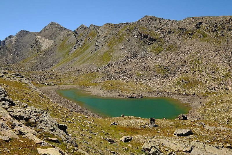 Veduta del secondo lago