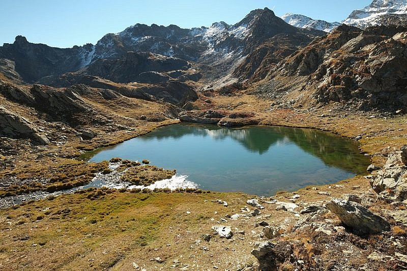 Il lago Longet