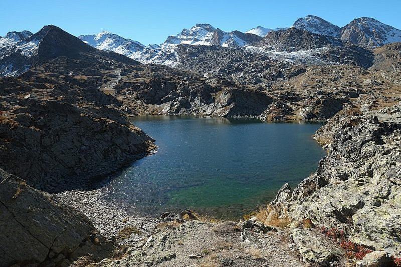 Il lago Bes inferiore