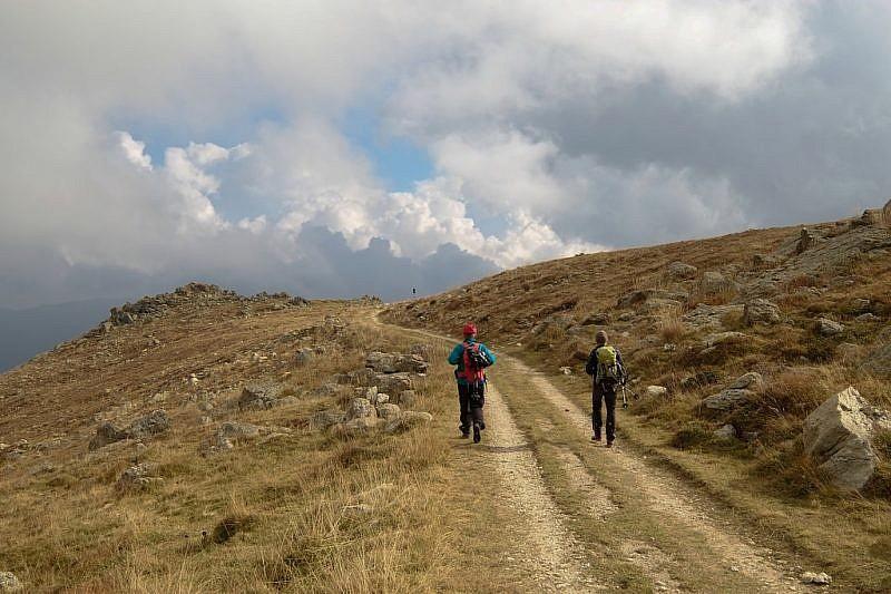 Ritorno dall'Alpe degli Archetti