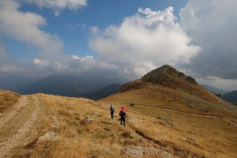 Verso il monte Castello di Quarzina