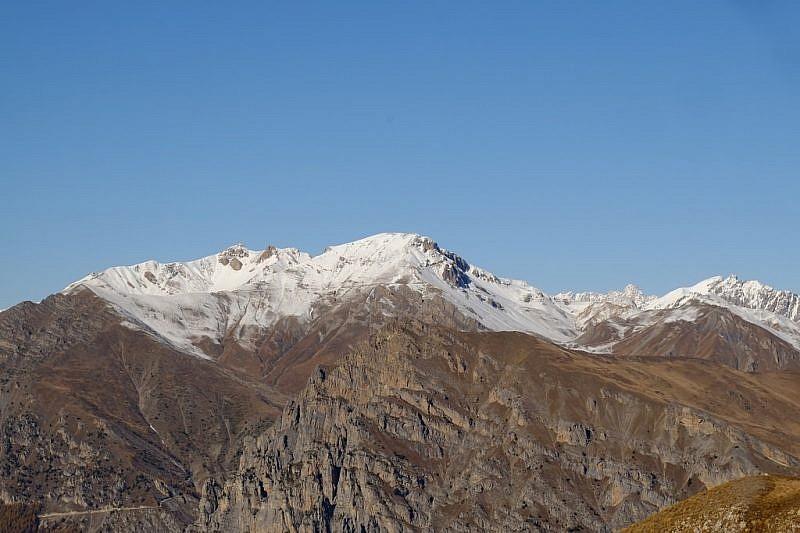 Veduta sul monte Bodoira