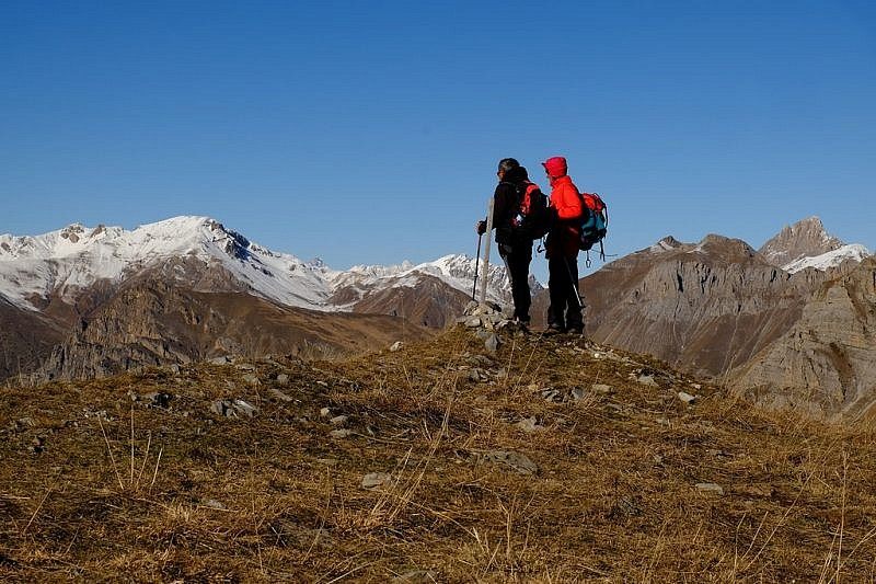 Sguardo dalla cima Varirosa