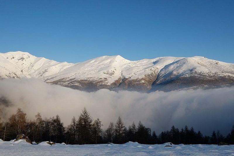 Panorama verso cima Ostanetta