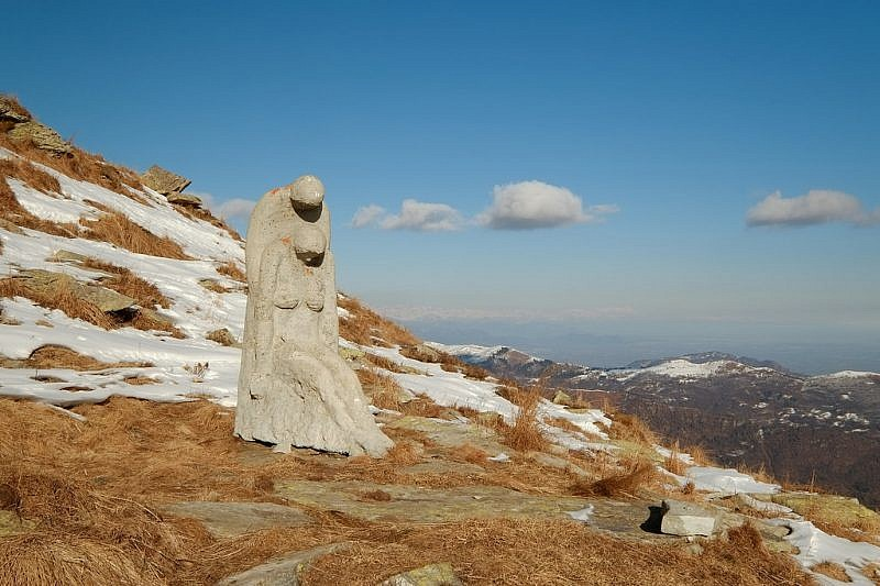 La scultura della deposizione dalla Croce