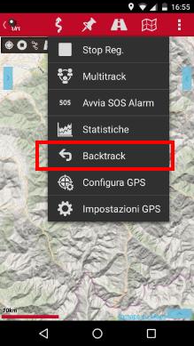 tracce da oruxmaps