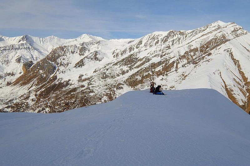 I due sci-alpinisti