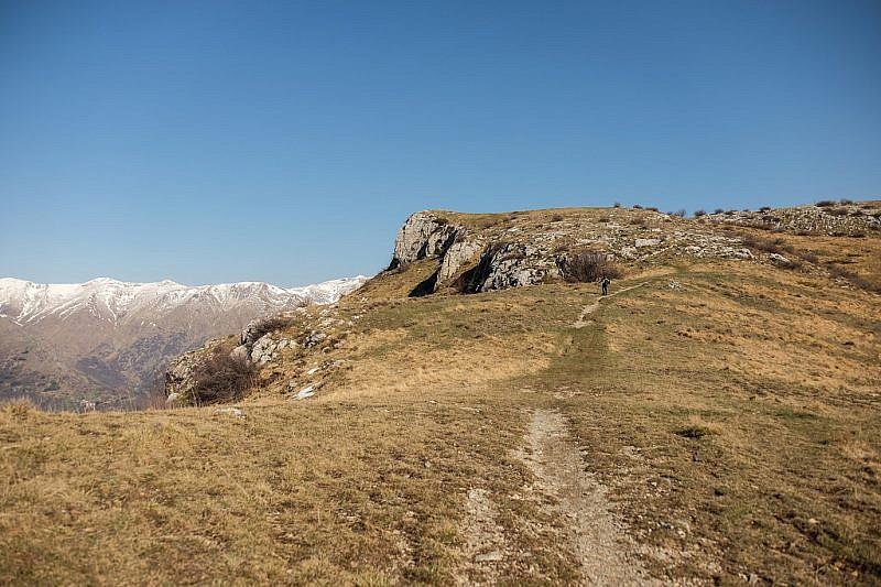 Sul fianco sinistro di quelle rocce c'è il Garb del Dighea