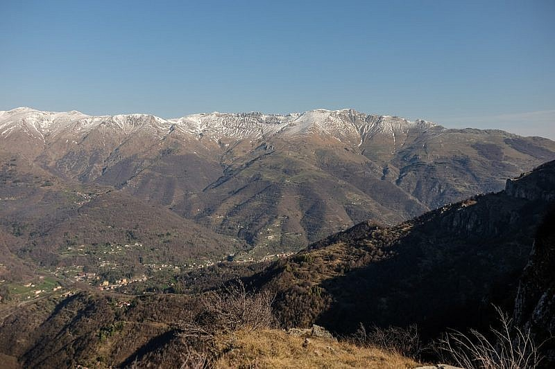 Val Tanaro dal punto panoramico