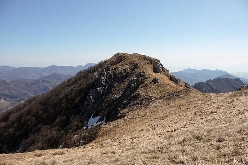 La cima principale del monte Galero…