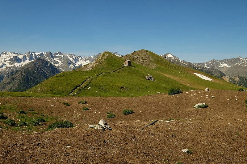 Arrivo sulle praterie e cima della Montagnetta