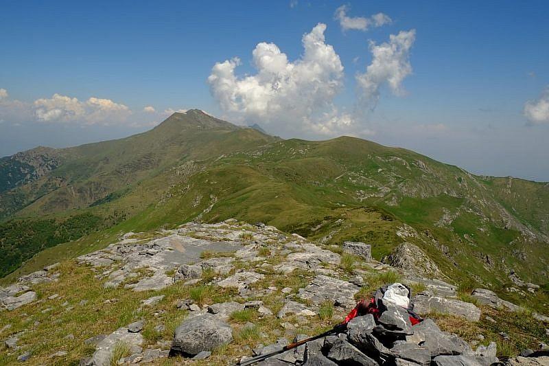 Bric Costa Rossa dal monte Jurin