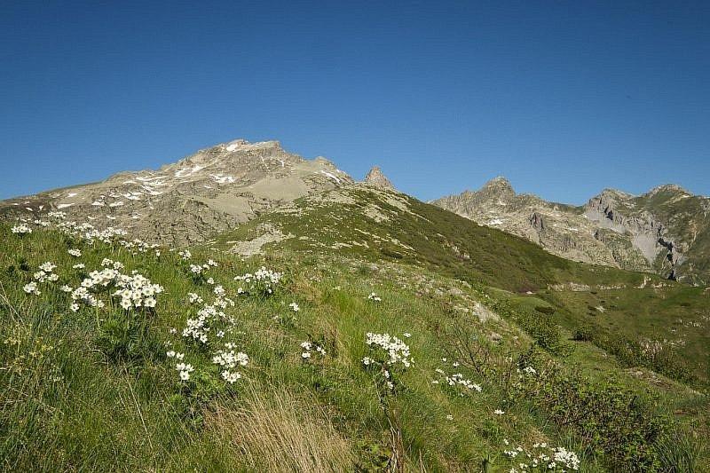 Rocca dell'Abisso in alto a sinistra