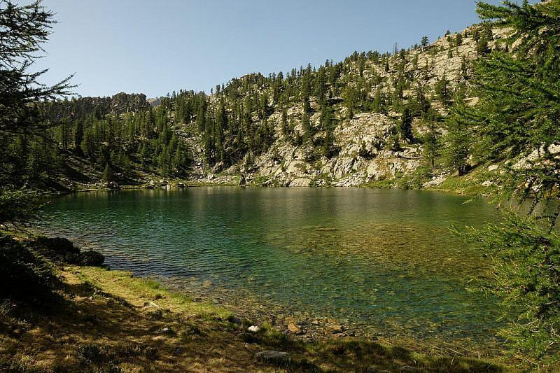 Immagini del lago Martel