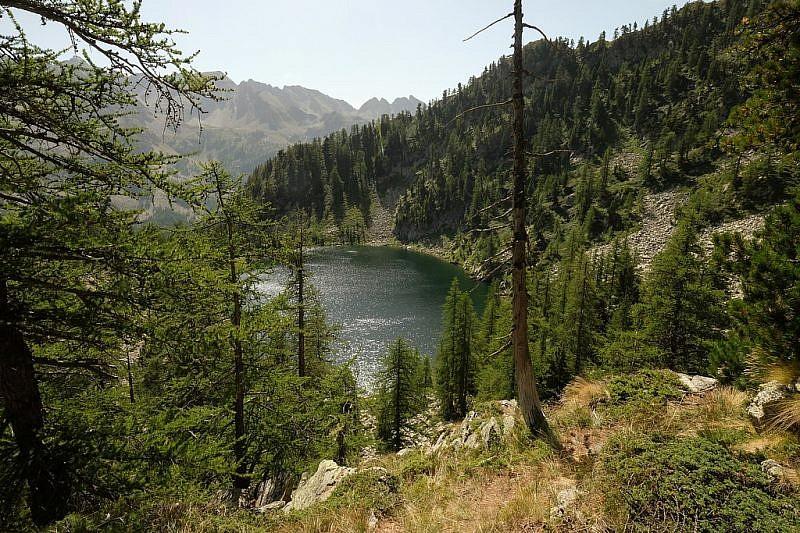Lago Nero visto dall'alto