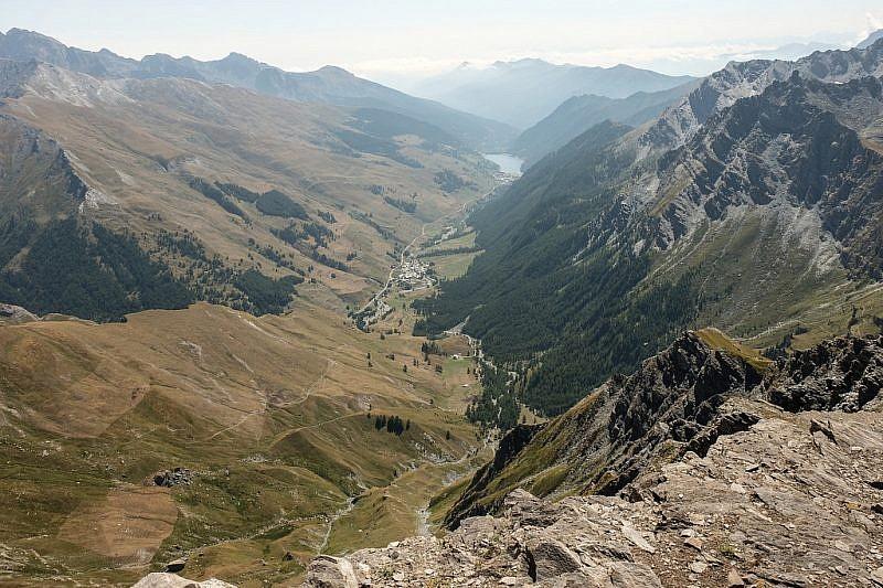 Nuova visuale sul vallone di Chianale dal punto panoramico