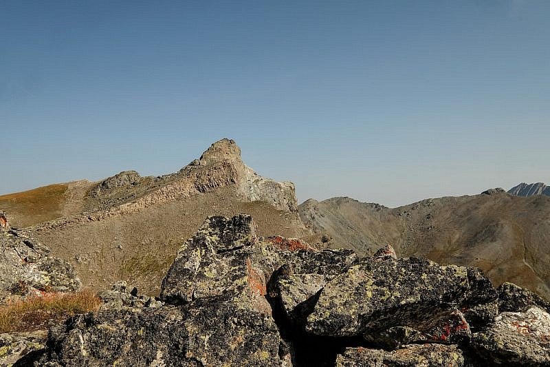Rocca Bianca dalla Rocca del Nigro
