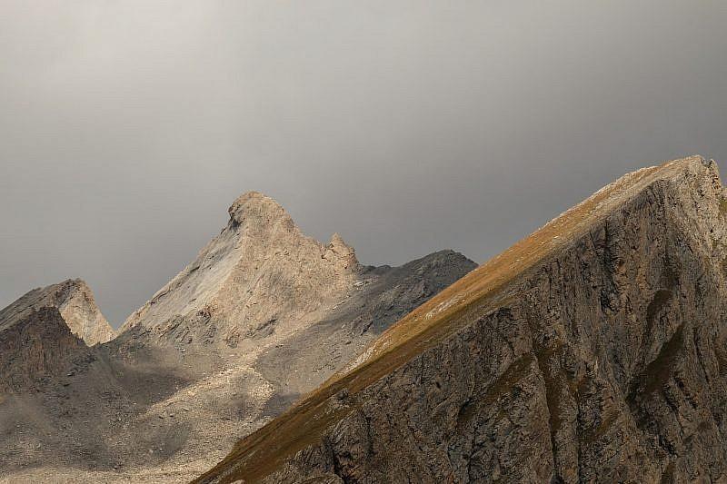 Zoom sul Pic d'Asti dal ricovero…
