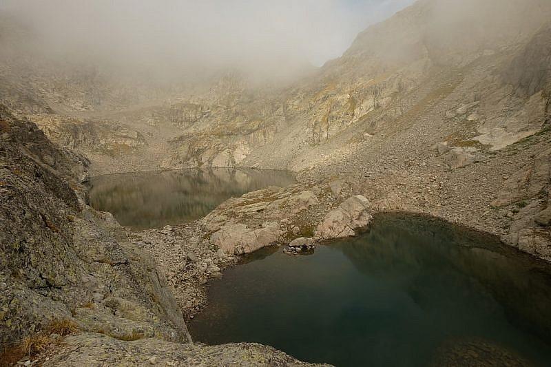 …raggiungiamo il lac Gelé