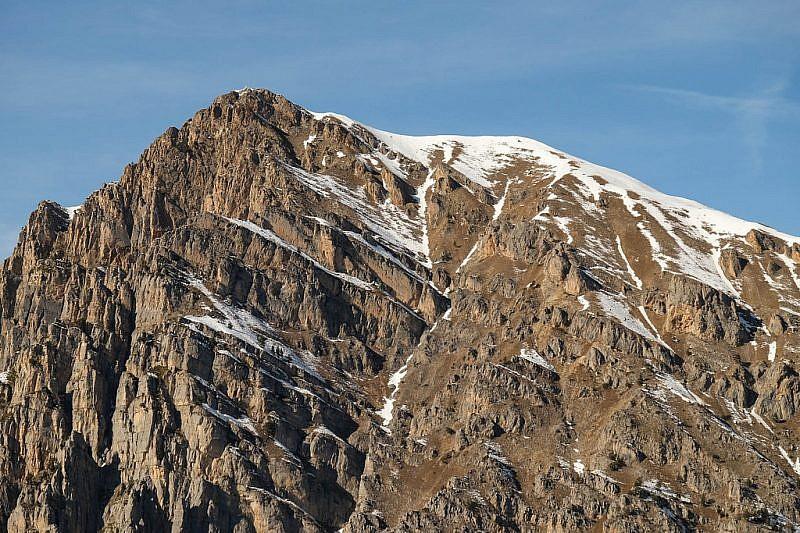 Zoom sul Bersaio (2386 m)